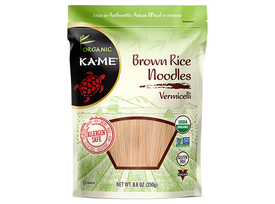 KAME Vermicelli Brown Rice Noodles