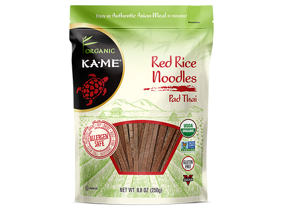 KAME Pad Thai Red Rice Noodles