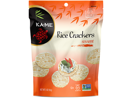 KAME Sesame Rice Crackers