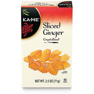 KA–ME Sliced Crystallized Ginger