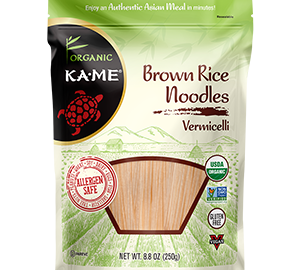 KAME Dry Noodles Brown Rice Vermicelli