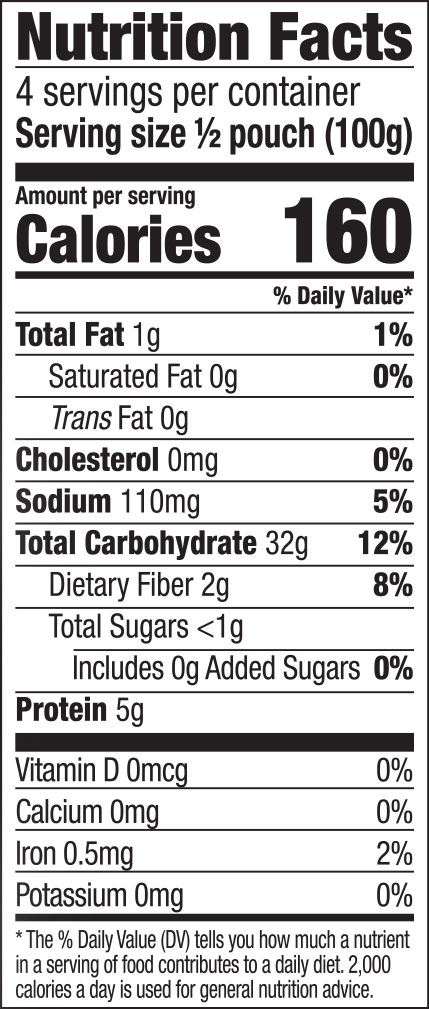 Hokkien Noodles Nutrition Facts
