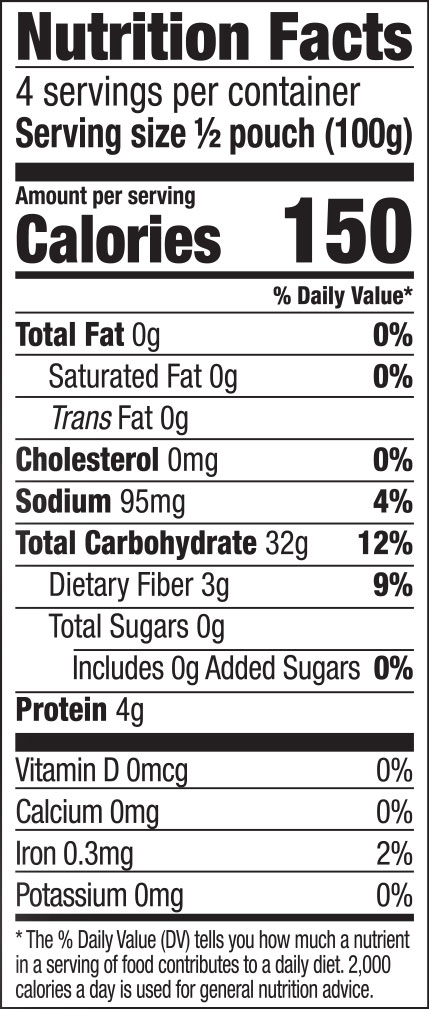 Udon Noodles Nutrition Facts