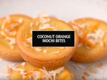coconut orange mochi bites recipe